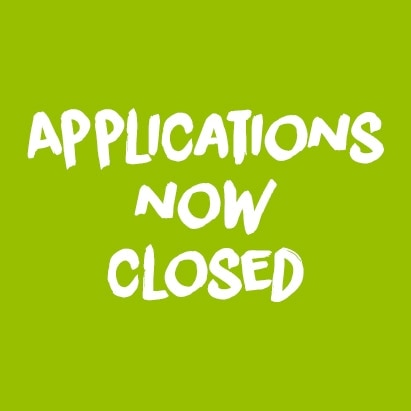 Applications are now closed image